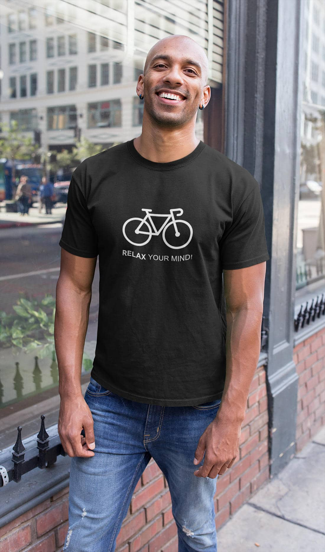 Fahrrad-T-Shirts-Relax your mind