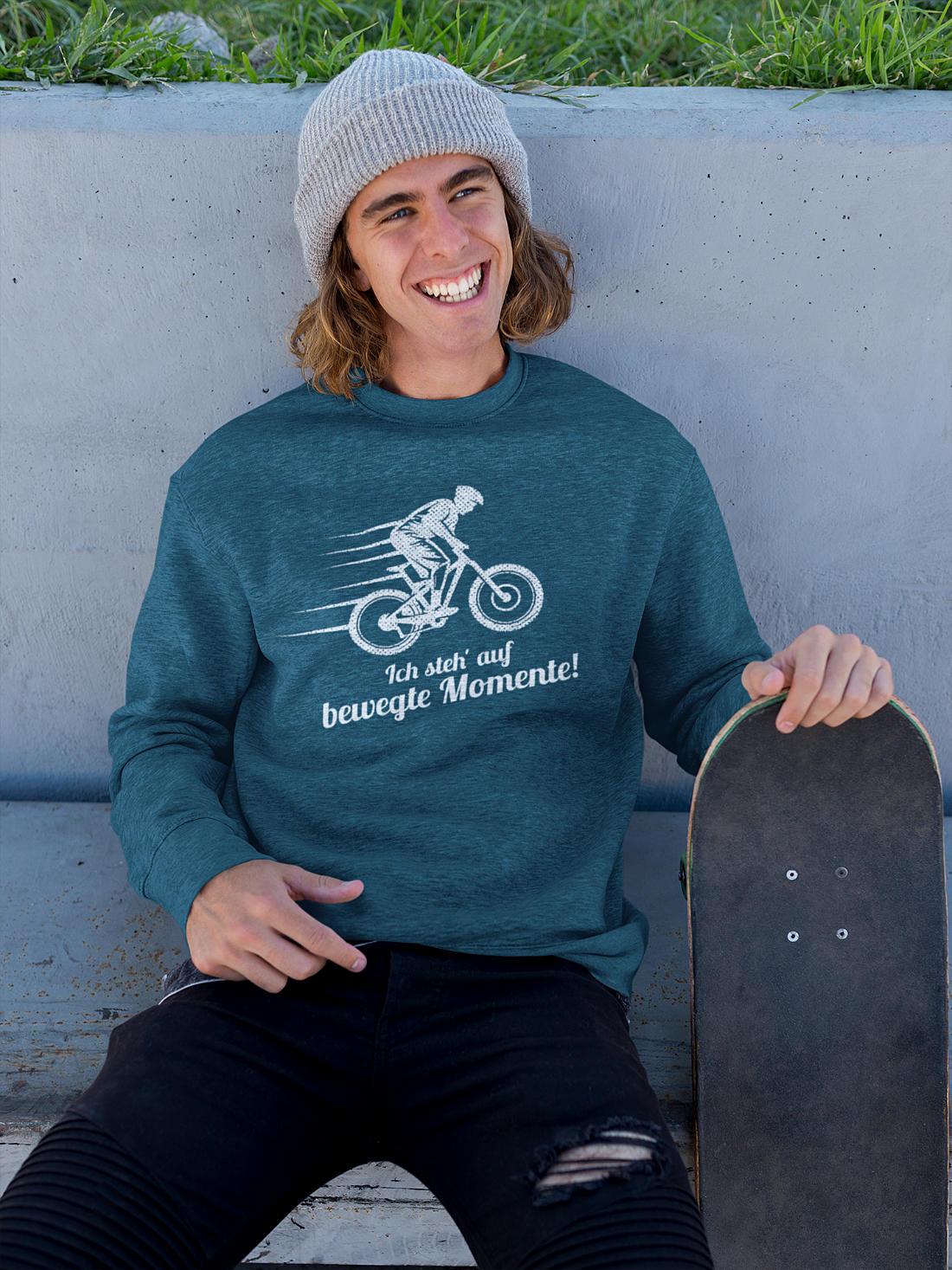 Fahrrad T-Shirts_Ich_steh_auf_bewegte_Momente