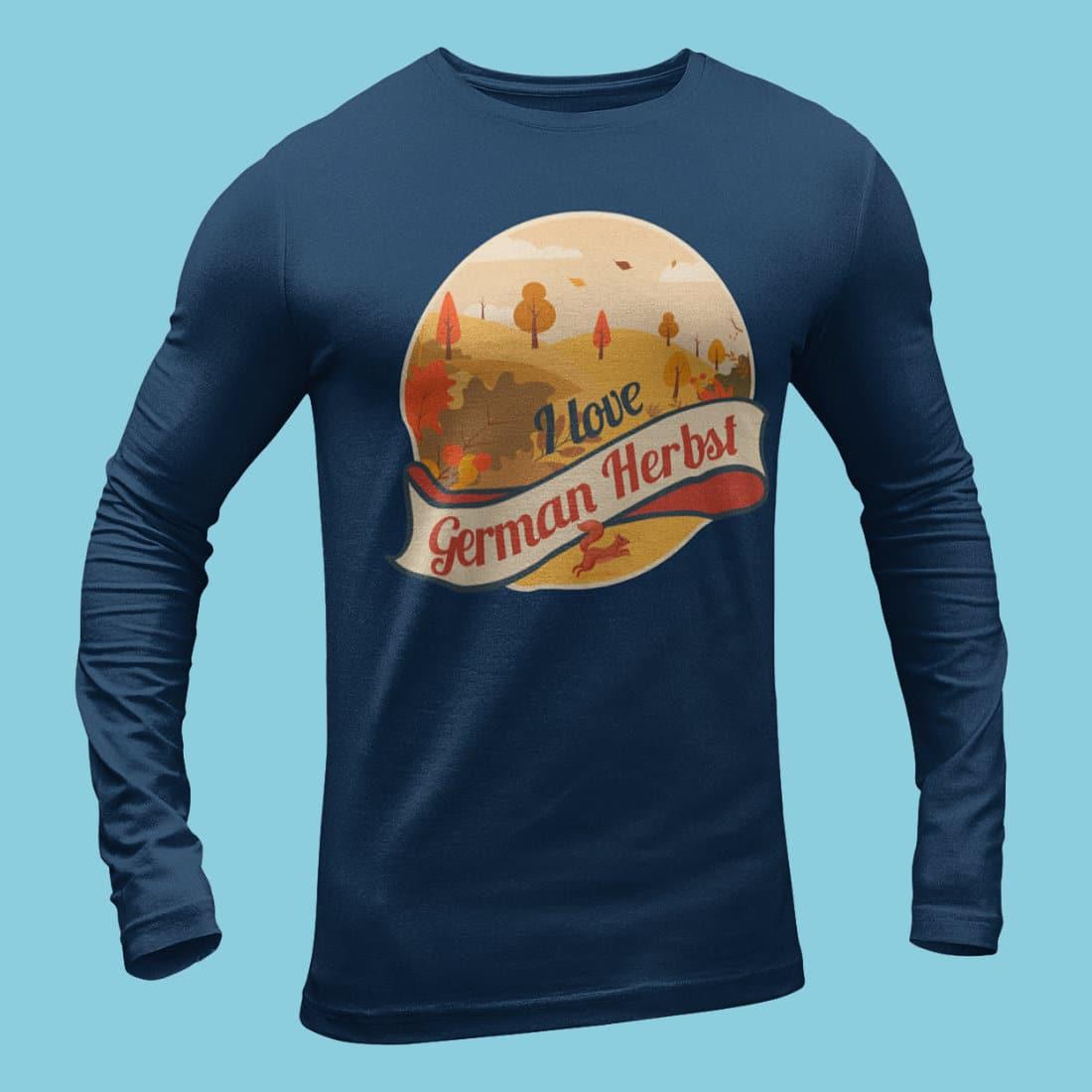 Herbst-T-Shirt für Wanderer & Naturfreunde