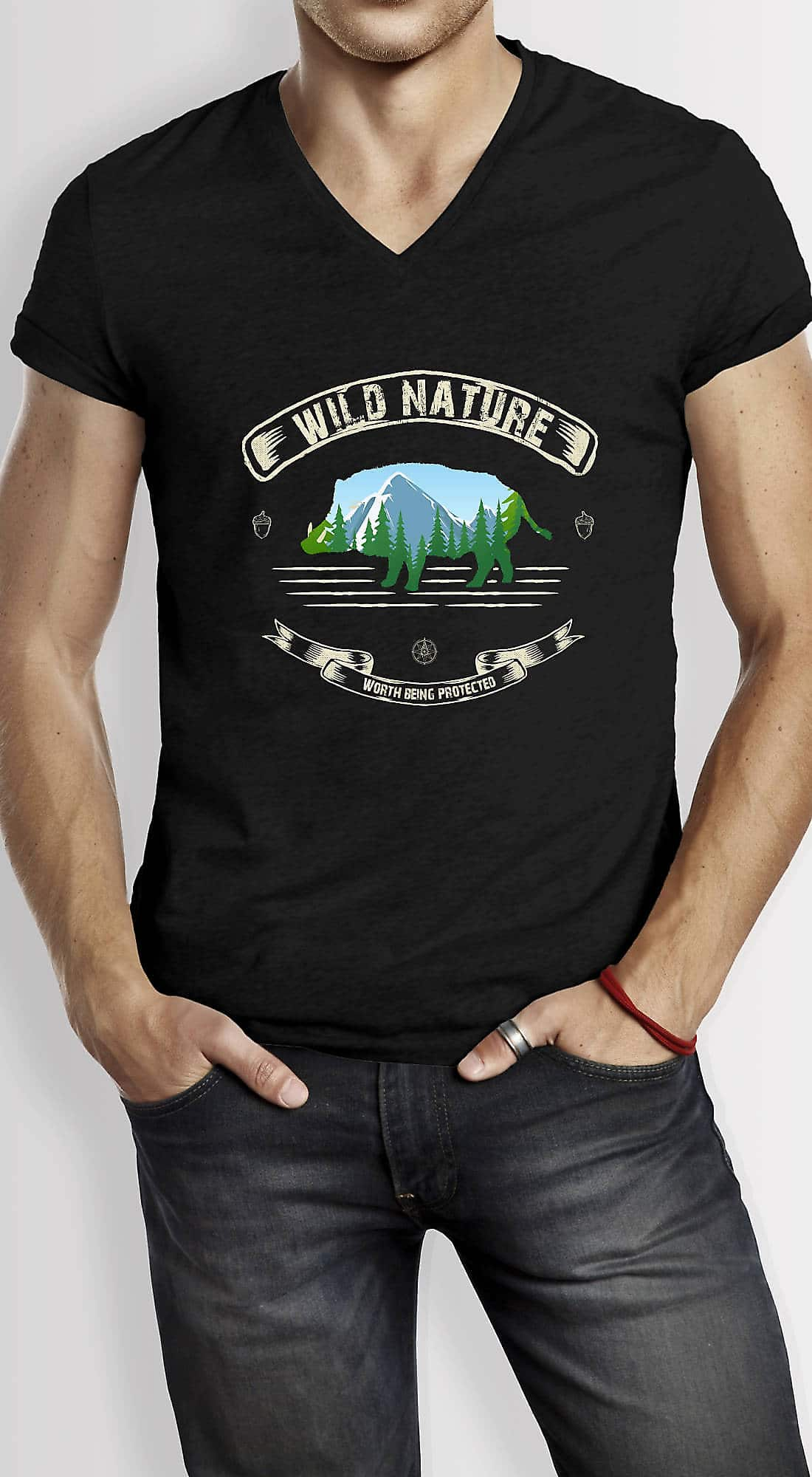 Slide02-Wandern-T-Shirt-Wild-Nature-Umweltschutz