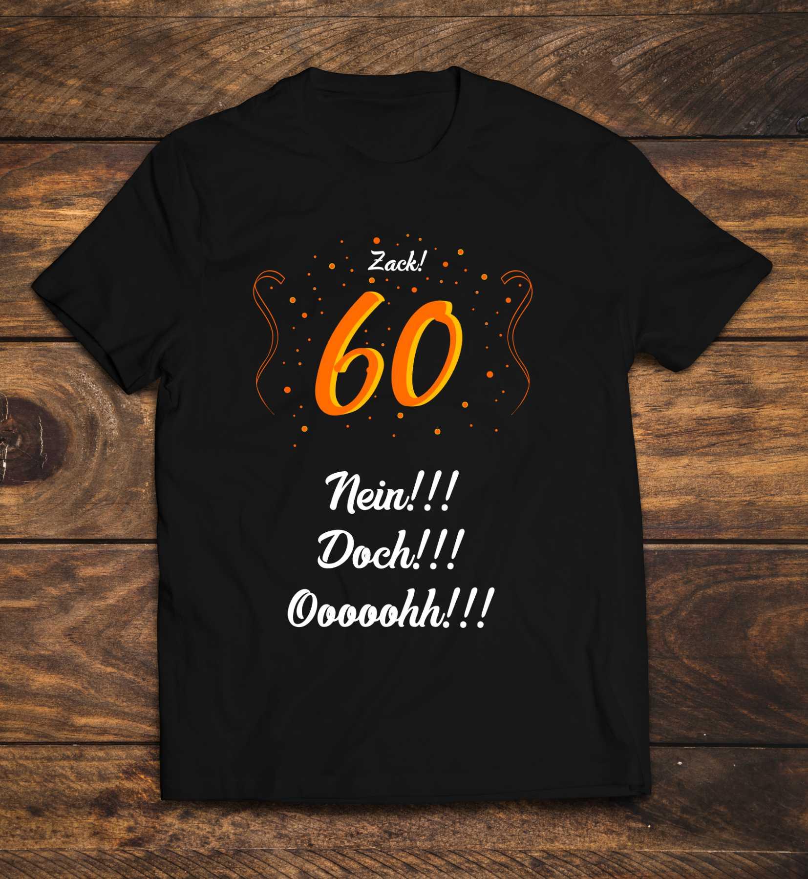 60-Geburtstag-T-Shirt