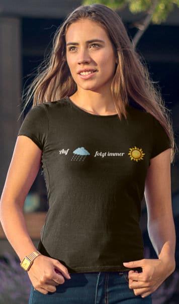 Start-t-shirt-Damen-Motivation-Auf-Regen-folgt-Sonnenschein