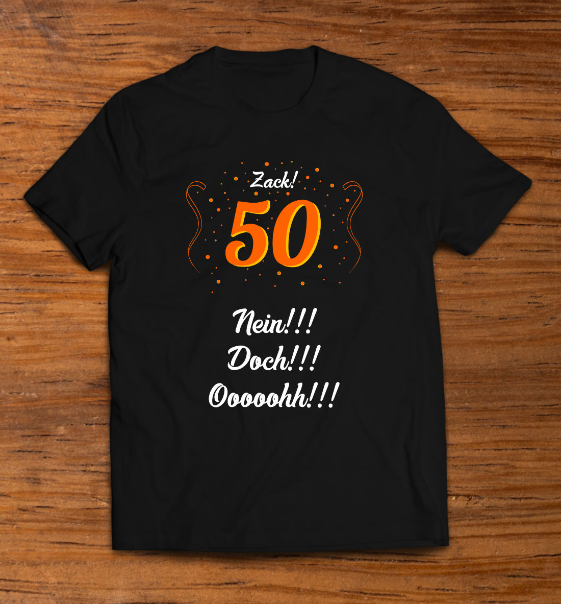 T-Shirt 50. Geburtstag
