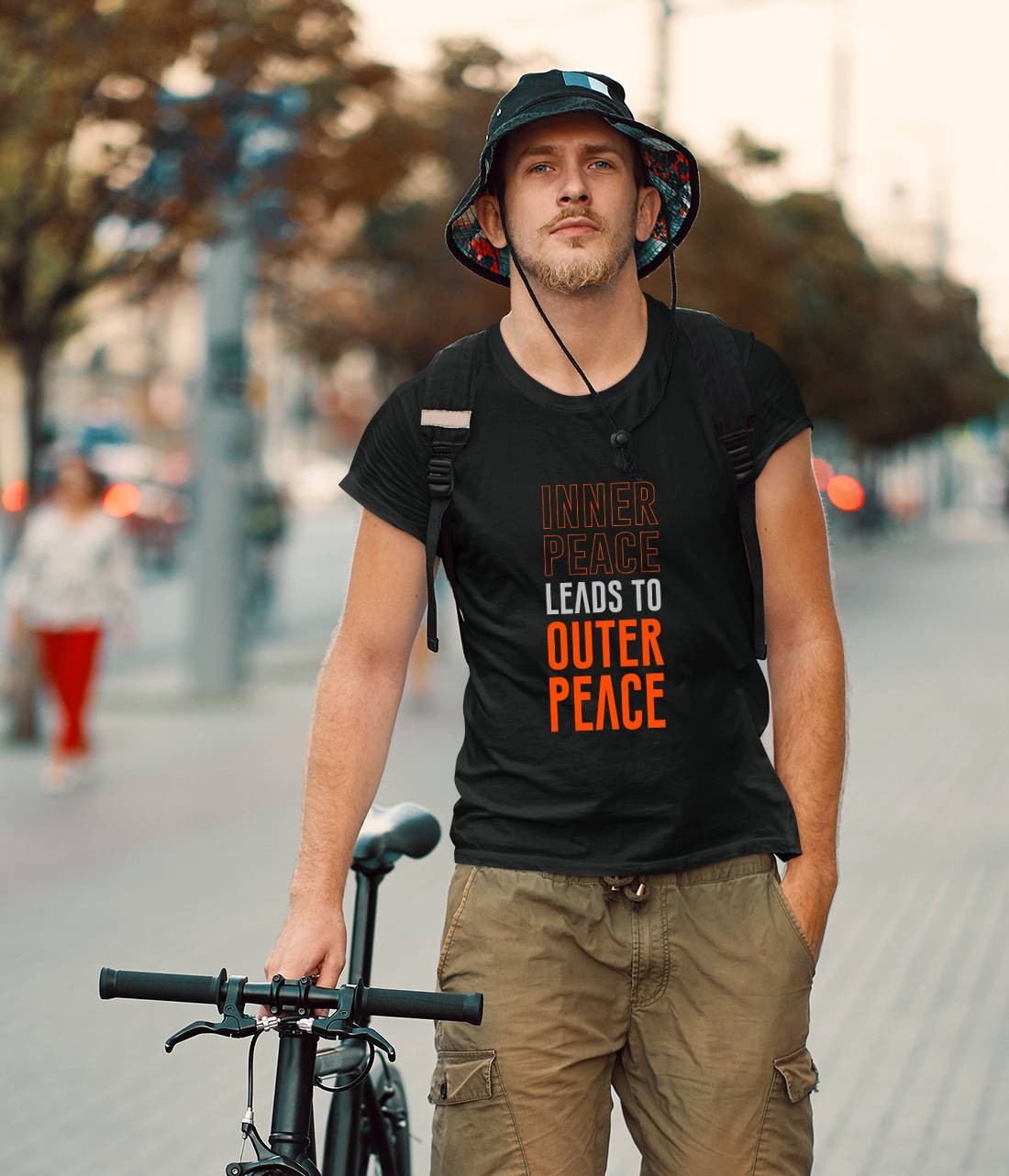 T-Shirt Inner Peace leads to outer Peace!