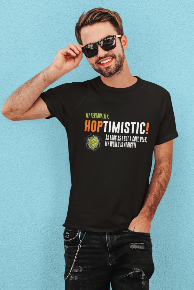 Lustiges-Party-T-Shirt-HOPTIMISTIC