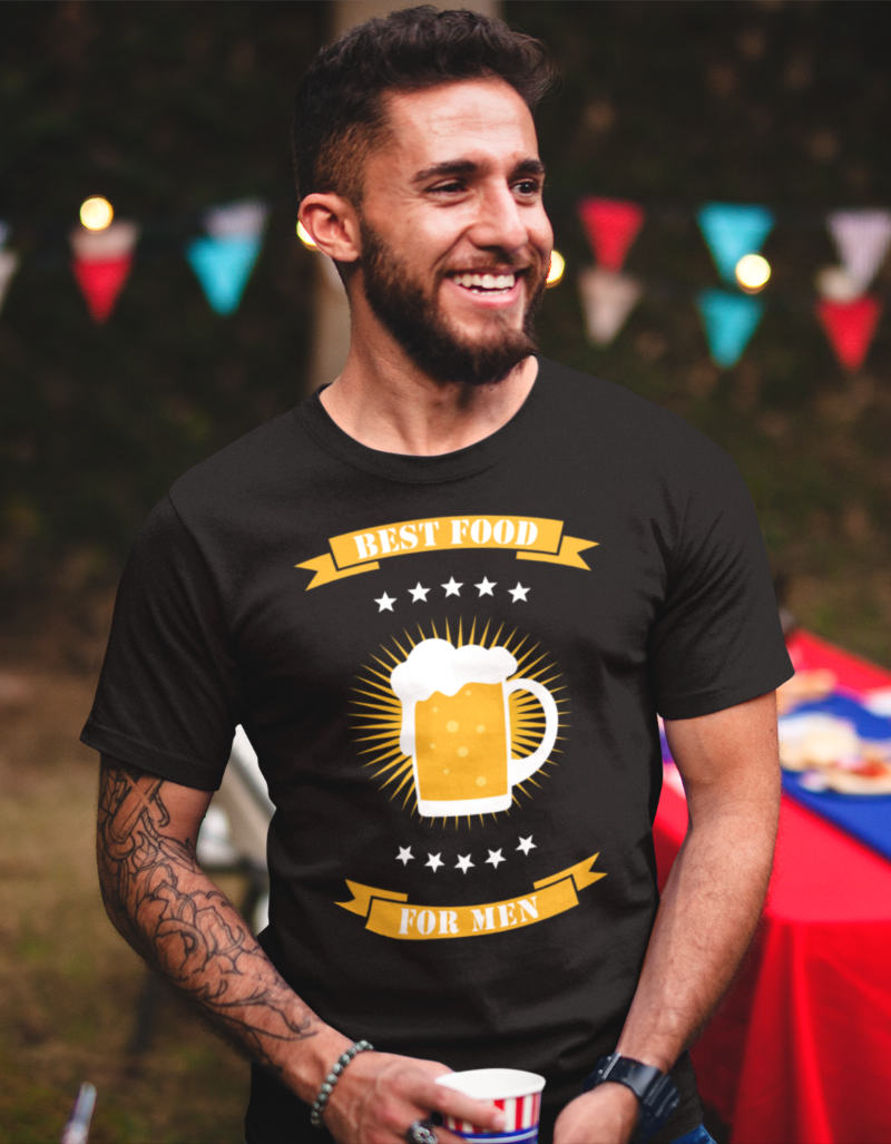 Lustiges_Tshirt_Bier_Beer_best_food