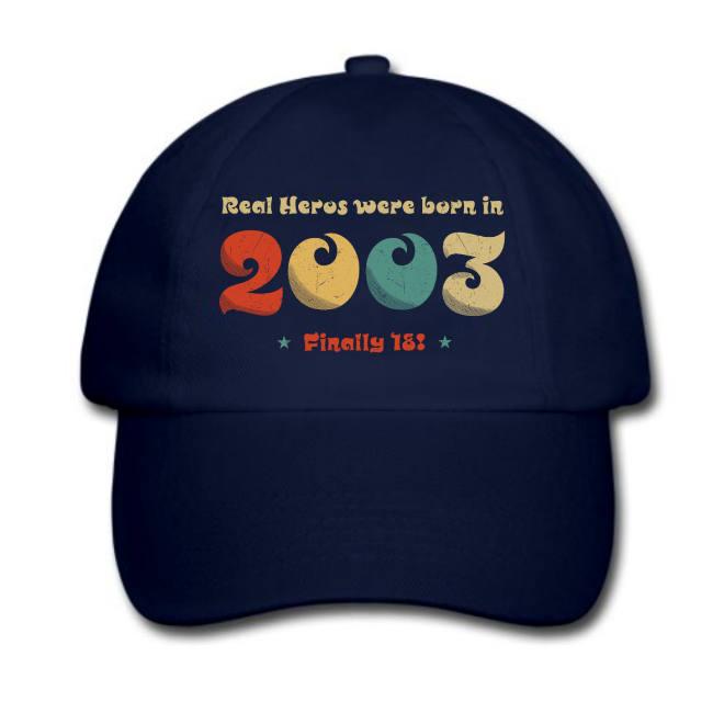 18-Geburtstag-Geschenkidee-Baseballcap-Schirmmütze