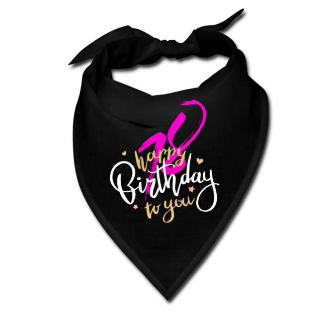 18-Geburtstag-Geschenkidee-Bandana-Typo