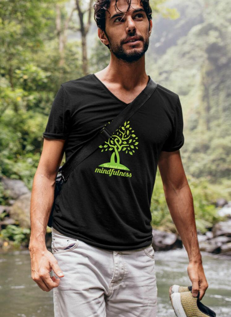 Umweltschutz Tshirt - mindfulness-achtsamkeit